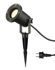 NAUTILUS PIQUET XL noir GU10 éco.énergie max 11W fiche et câble inclus