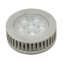 Source LED GX53, 7,5W, 450lm, 6 SMD LED, 25°, 3000K