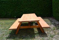 Table extérieure légère 250 cm imprégnée