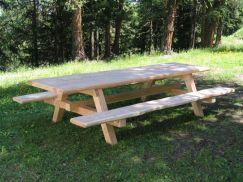 Table extérieure légère 250 cm standard