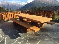 Table extérieure robuste 250 cm standard