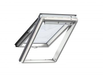Fenêtre De Toit à Projection En Bois 55 Cm X 98 Cm Bois De Pin Peint