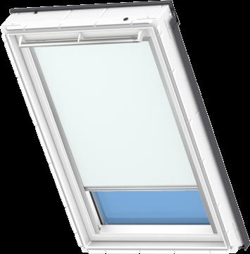 Tenda Oscurante Blu Chiara 55 Cm X 78 Cm Velux Integra Elettrica Automatica