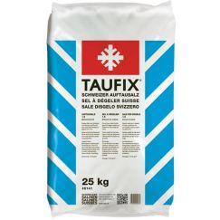 Sel de déneigement Taufix en sac de 25 kg