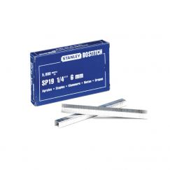 Agrafes BOSTITCH  (5000 pcs) Longueur mm: 6, Largeur mm: 9,5