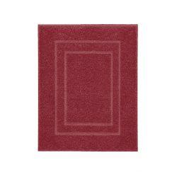Tissu éponge Plaza rouge 60 x 80 cm