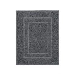 Tissu éponge Plaza gris foncé 60 x 80 cm