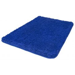 Tapis de bain Trend bleu 60 x 90 cm