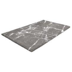 Tapis de bain Como platine 70 x 120 cm