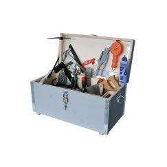 """Caisse à outils pour couvreurs """"Steinemann"""" Gr.mm: 690/350/350, remplie, avec 37 outils"""