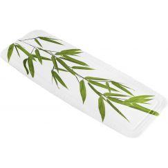 Tapis anti-dérapant Bamboo vert 36 x 92 cm