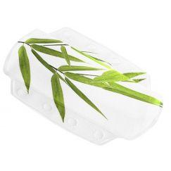 Coussin Bamboo vert 32 x 22 cm