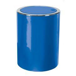 Poubelle Clap bleu 5L