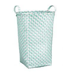 Box de lessive Double Laundry sauge vert