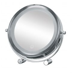 Miroir de beauté Bright Mirror Shorty argent