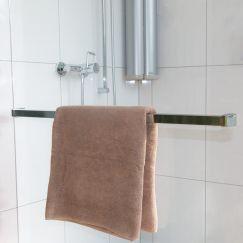 Porte-serviette universel L 700 x H 40 x P 56 mm, chrome