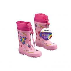 "Bottes ""Kids Garden"" rose fuchsia Grandeur: 29"