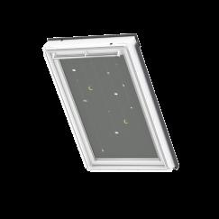Store d'obscurcissement white line Mobile 134 cm x 140 cm