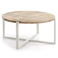 Table basse Iznewam blanc