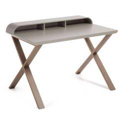 Table de travail Success gris clair, bois gris