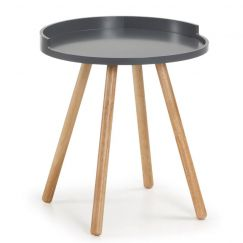 Table basse Bruk wood graphite, bois clair