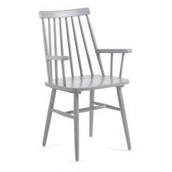 Fauteuil Kristie armchair gris clair