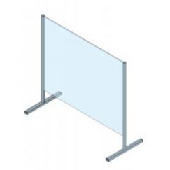 Protection en verre de sécurité trempé (ESG) et aluminium PRO-CV 1 1400 x 970 mm