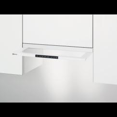 Electrolux DASL5545WE, Hotte à visière plate en verre, Blanc