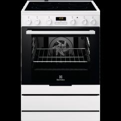 Electrolux FEH60G3, Cuisinière électrique indèpendante, Blanc