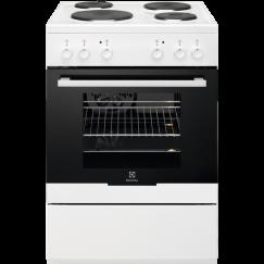 Electrolux FEH60P1, Cuisinière électrique indèpendante, Blanc