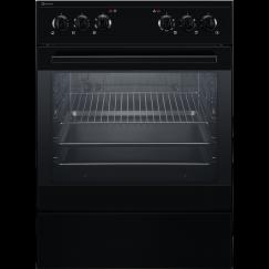 Electrolux GHL346SW, Cuisinière encastrable à gaz, Noir
