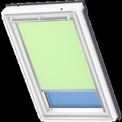 Store d'obscurcissement vert clair 134 cm x 140 cm VELUX INTEGRA® Solar automatique