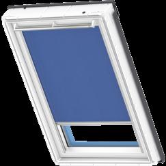 Store rideaux bleu cobalt 55 cm x 78 cm
