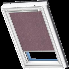 store rideau violet à motifs 134 cm x 140 cm VELUX INTEGRA® Solar automatique