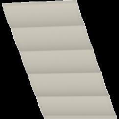 Store bateau gris foncé quadrillé seulement tissu 134 cm x 140 cm