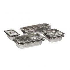 Electrolux  PKKS8, Récipient pour cuisson - steaming set, Acier inox