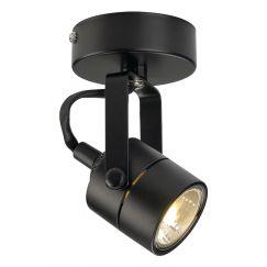SPOT 79, 230V applique et plafonnier, noir, GU10, max. 50W