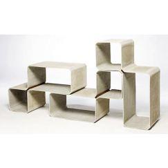 Tetris 540x810x350 Gris